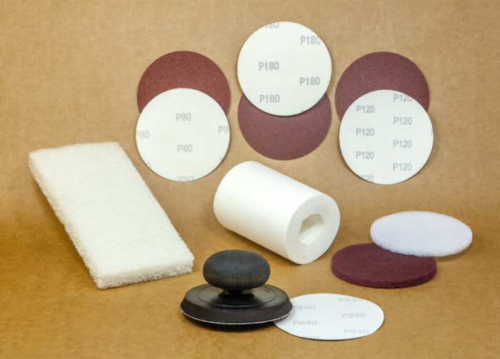 Sand paper and accessories